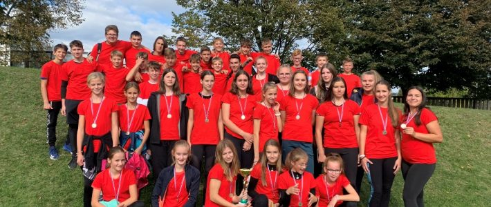 Finale ekipnega državnega tekmovanja v atletiki – učenke državne podprvakinje